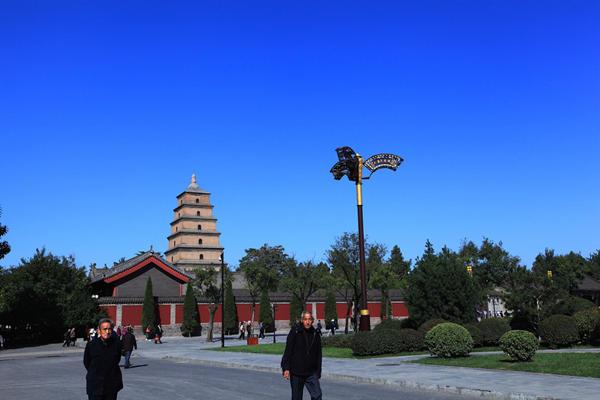 行程景点:兵马俑钟鼓楼大雁塔明城墙陕西历史博物馆